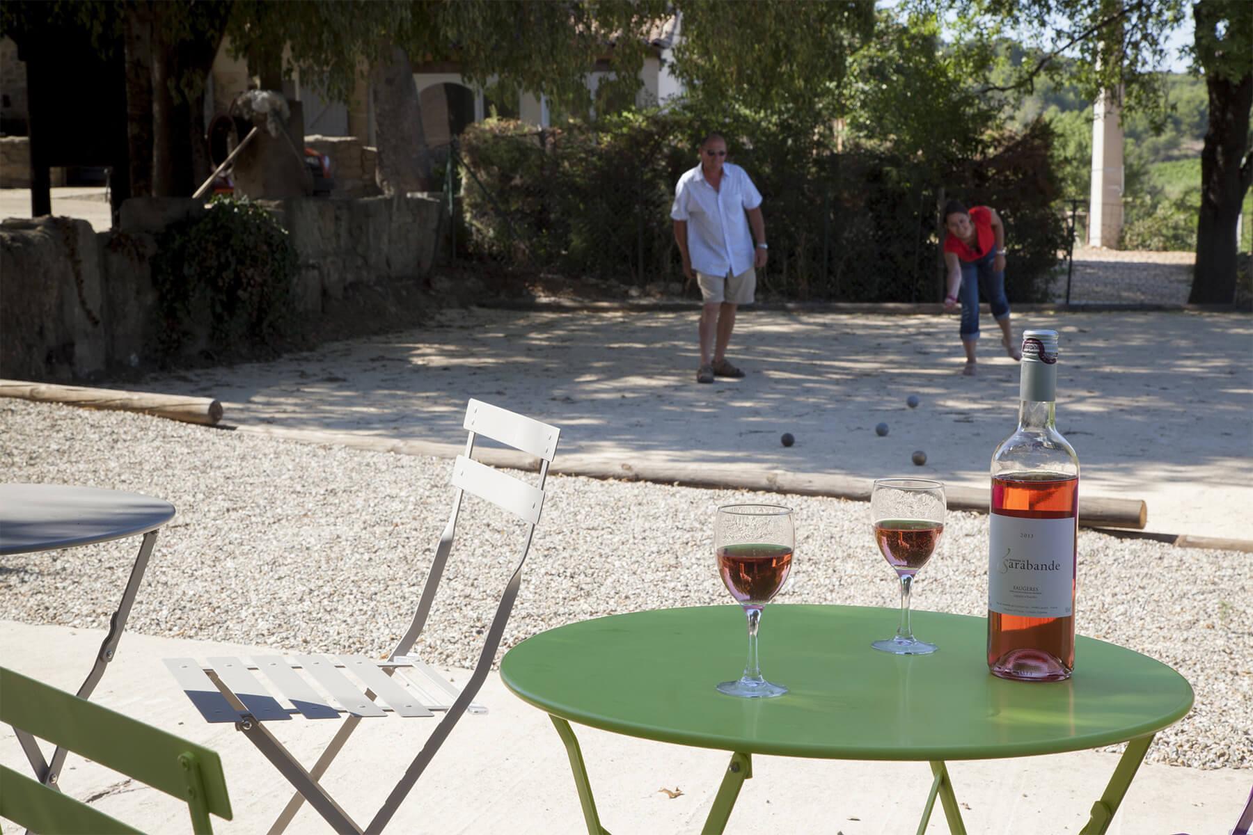 vacances mas de thau vin cave